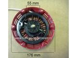 Handstarter Honda Compleet met 2 Startpallen voor de GX120 - GX160 & GX200 op Kantensnijder - Kooimaaier - Trilplaat - Kart - Verticuteermachine - Kloofmachine - Hakselaar - Zodensnijder - Veegmachine