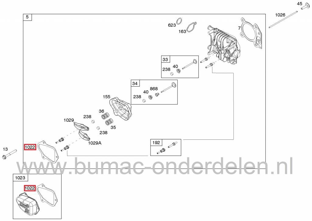 klepdekselpakking briggs stratton motoren op. Black Bedroom Furniture Sets. Home Design Ideas