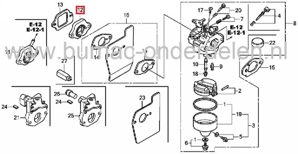 isolator carburateur honda gc135 gc160 gc190 gcv135 gcv160 gs160 gs190 gsv190. Black Bedroom Furniture Sets. Home Design Ideas