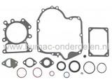 Pakkingset Briggs & Stratton 344 en 500 cc Motoren op Zitmaaiers - Frontmaaiers - Tuintrekkers, Set Pakkingen voor B&S 3125 Serie OHV AVS 344 CC en 4145 Serie OHV AVS 500 CC Motoren, Dichtingen B en S, Briggs and Stratton Dichtingsset