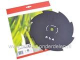 8 Tands mes 250 mm voor Bosmaaier - Strimmer - Bermmaaier Buiten Diameter 250 mm Binnendiameter 20 mm Dikte 1,4 mm