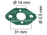 Stihl Inlaatpakking voor Bladblazer, Bosmaaier, Heggenschaar BG45, BG46, BG55, BG65, BG85, BR45, BT45, FS45, FS46, FS55, FS87, FS90, FS110, FC55, FC90, FC95, HS45, HS81, HS86, HS86, HT100, HT101, HL90, HL95, HL100