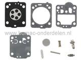 Membraan met Pakking RB149 voor Zama Carburateur op Husqvarna 235 - 236 - 240 - 435 en 440 Kettingzaag - Motorzaag, Zama Membraan Reparatieset voor C1T Carburateur