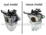Carburateur voor DOV en Quantum Motor met Easy Start van Briggs and Stratton op Grasmaaier, Gazonmaaier, B&S Vergassers, Carburatoren voor DOV Motoren, Quantum Motoren, Benzinemaaiers, Motormaaiers