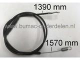 Koppelingskabel, Aandrijfkabel voor Alko 5300BRV en 5375VSC Grasmaaier, Grasmachine, Kabel voor Aandrijving van de Wielen Alko 5300 BRV, 5300 BRVC en 5575 VSC