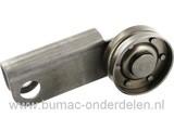 Spanpoelie voor Aandrijving Snijcilinder - Kooi bij Atco Balmoral, Allett 14K, 17K en K20 Qualcast Classic Petrol, Punch