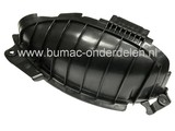Mulchplug - Deflector voor Castelgarden XD98 - XD140 - XDL170 - XDL190HD - L185BH, Stiga Estate Tornado en SD98, met een Maaibreedte van 98 Cm, Mulch, Zijuitworp, Castel Garden, Mulch Plug