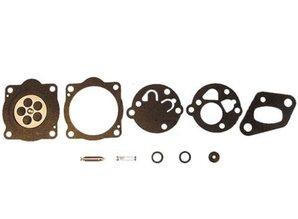 Carburateur Reparatieset TK voor Teikei Motoren op Bosmaaiers, Kettingzagen, Bladblazers, Doorslijpmachines, Heggenscharen van Homelite, Stihl, McCulloch, Hoffco, Fuji Robin, Green Machine, Shindaiwa C25 en T25, Reparatieset voor TEIKEI Vergassers, Carbur