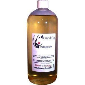 Huile de Vie Massage olie honey flower.