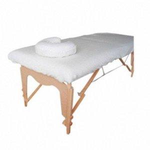 Allesvoordesauna Hoeslakenset voor massagetafel (katoen)