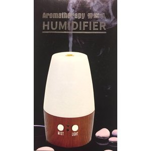 Allesvoordesauna NEW GX-aroma diffuser, donker hout USB type