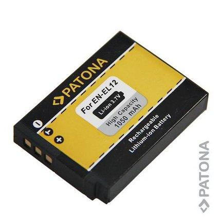 Patona Battery Nikon CoolPix P300 S70 S710 S610c S610 S620 ENEL12 - 1088