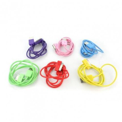 Batts Colored unbranded cables for iPhone, iPod and iPad