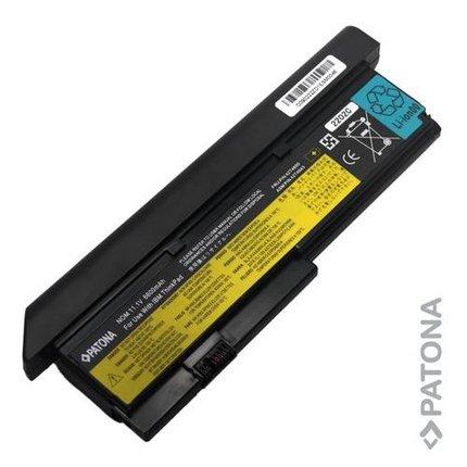 Patona Battery for IBM Lenovo X200 X200S 42T4536 42T4537 6600mAh