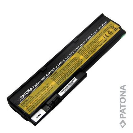 Patona Battery for IBM 42T4537 42T4541 42T4536 42T4538 42T6467 X200 X200s 4400mAh