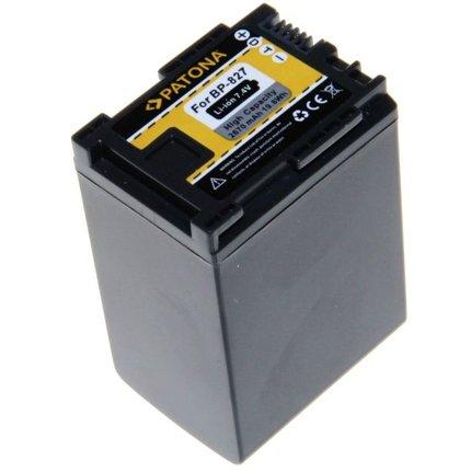 Patona Accu voor CANON BP-827 FS10 FS100 FS11 FS200 FS21 FS21 FS22 iVIS FS10