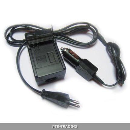 Patona Oplader voor CANON NB-2L S30,S40,S45,S50,S60,S70 NB2L incl. car adapter (12V)