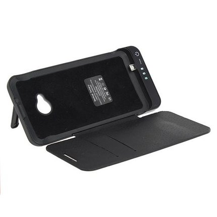 Batts 3800 mAh cover charger voor HTC ONE