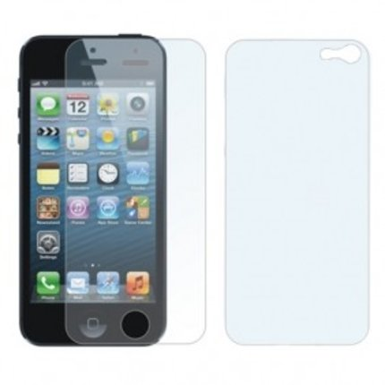 Batts Front + Back Screen Protector anti glare voor iPhone 5