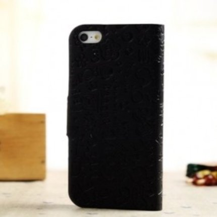 Batts PU leather flip cover for iPhone 5 with card holder