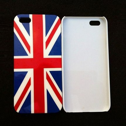 Batts Union Jack hard cover hoes voor Iphone 5
