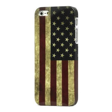 Batts Retro Amerikaanse vlag iPhone 5 cover - American flag