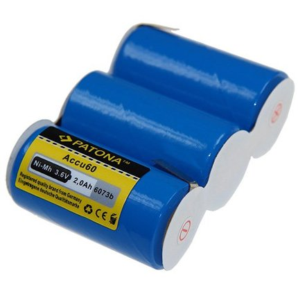Patona Replacement battery for Gardena Accu45 Accu60 8800 8810 8808 Type 60 Vario RV-E6