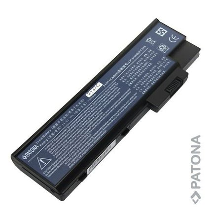 Patona Replacement Battery for Acer Travelmate 2460 Series, 7510 Series - 2137
