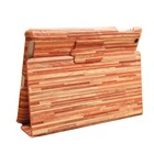 Batts iPad 2/3/4 hoes hout ontwerp - Red Wood
