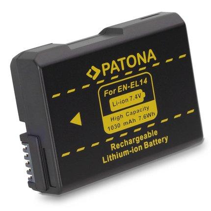 Patona Vervangende accu voor Nikon EN-EL14 - 1134