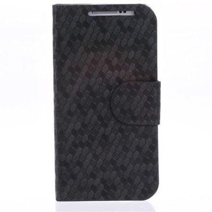Batts Leren hoes voor Samsung Galaxy S4 Mini i9190 met creditcardhouder en Stand Functie