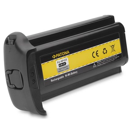 Patona Battery for Canon NP-E3 EOS-1D Mark II EOS-1Ds Mark II EOS-1Ds npe3