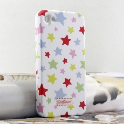 Batts iPhone 4 star cover - front + back