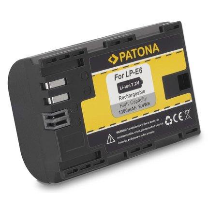 Patona LP-E6 Canon accu LPE6 EOS 5D Mark II EOS 7D met de nieuwste infochip - 1078