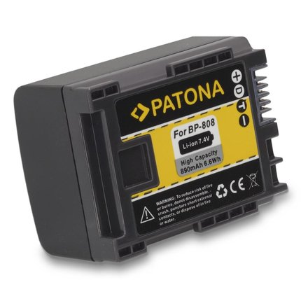 Patona Accu voor CANON HG21, HF10, HF11, FS-11, FS-100, FS-10