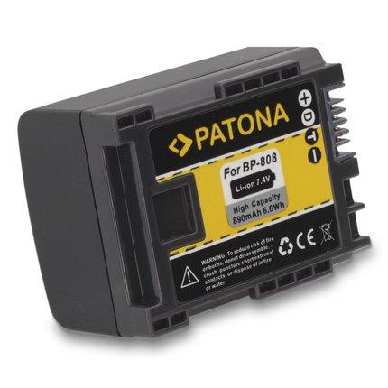 Patona Battery CANON BP819 BP827 BP808 BP809 HF100 HG-20 wireless