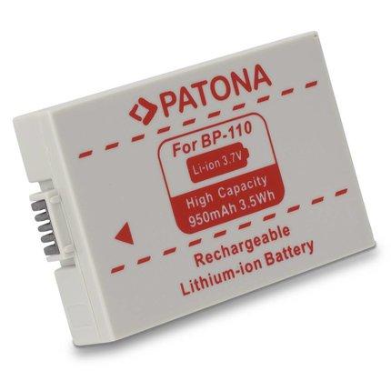 Patona Accu Canon BP-110 Canon HF R26 Canon HF 28 Canon HF 206