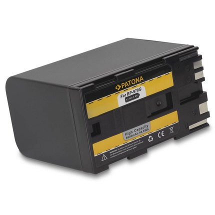 Patona BP 970 Canon accu BP-925 BP-955 BP-970G BP-975 EOS C300 EOS C300 PL - 1114