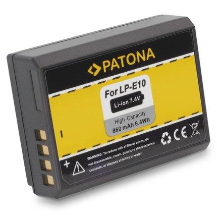 Patona LPE10 Canon accu LP-E10 LPE10 EOS1100D EOS 1100D - 1089