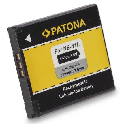 Patona Vervangende accu voor Canon NB11L IXUS 125HS 240HS Powershot A1200 NB-11L - 1108