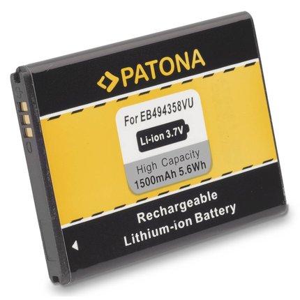 Patona Accu Samsung S5660 EB-494358VU - 3006