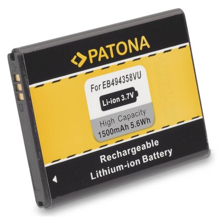 Patona Batteries Samsung S5660 EB-494358VU