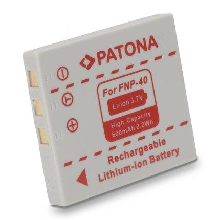 Patona PANASONIC DMC-FX2/DMC-FX7 (D-LI8) CGA-S004E NP-40 - 1013