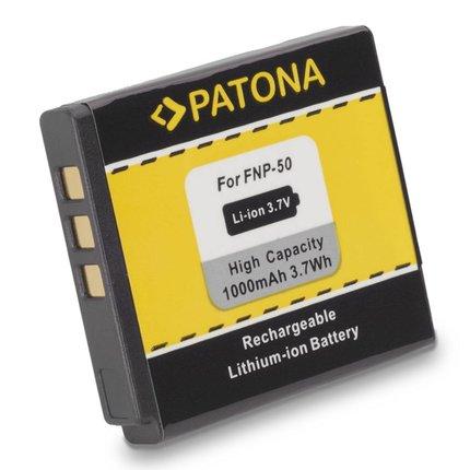 Patona Fuji F100fd Battery NP50 - 1014