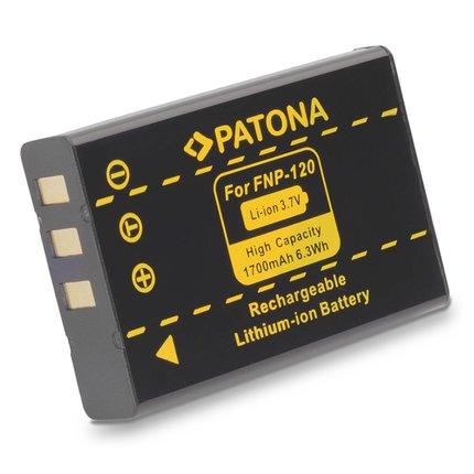 Patona Battery NP120 for FUJI, PENTAX, RICOH NP-120 - 1017