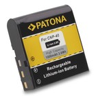 Patona Accu Casio NP40 EX-Z30 EX-Z40 EX-P600 Z100