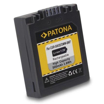 Patona Accu Panasonic DMW-BM7 FZ20 FZ10 FZ4 FZ5 CGA-S002E - 1027