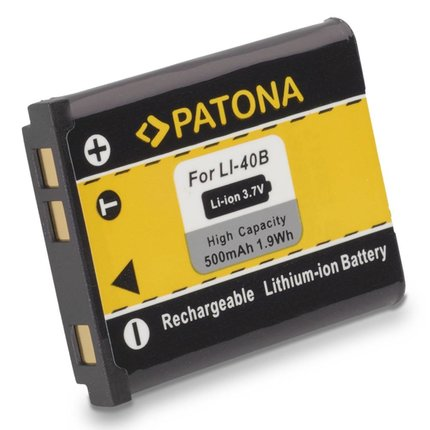 Patona Replacement Battery for Olympus Li40B Li42B Li-40B Li-42B for OLYMPUS IR-300 FE-5500-1031