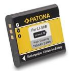 Patona Accu OLYMPUS LI50b LI-50b mju1010 mju1020 mju1030