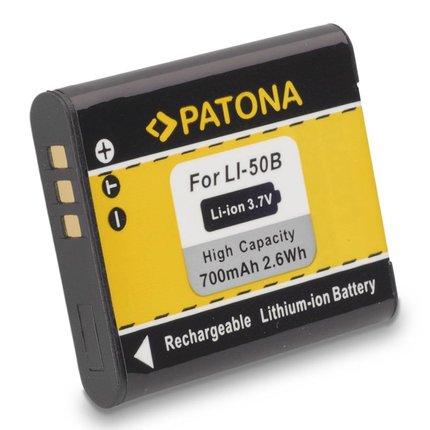 Patona Accu OLYMPUS LI50b LI-50b mju1010 mju1020 mju1030 - 1032